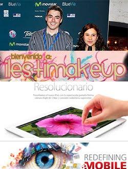 ilestimakeup, Asier Arranz, el Nuevo iPad y novedades del Mobile World Congress
