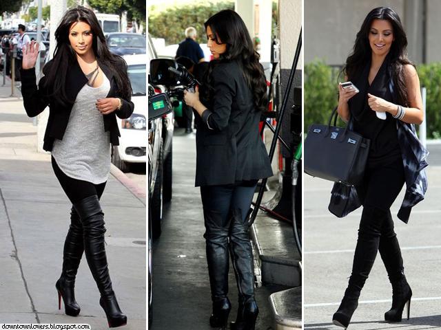 Estilo Kim Kardashian, Kim Kardashian, Kim Kardashian casual, Kim Kardashian dia-a-dia, Kim Kardashian preto, Kim Kardashian botas, Kim Kardashian skinny jeans, Kim Kardashian blazers, Kim Kardashian peças básicas,