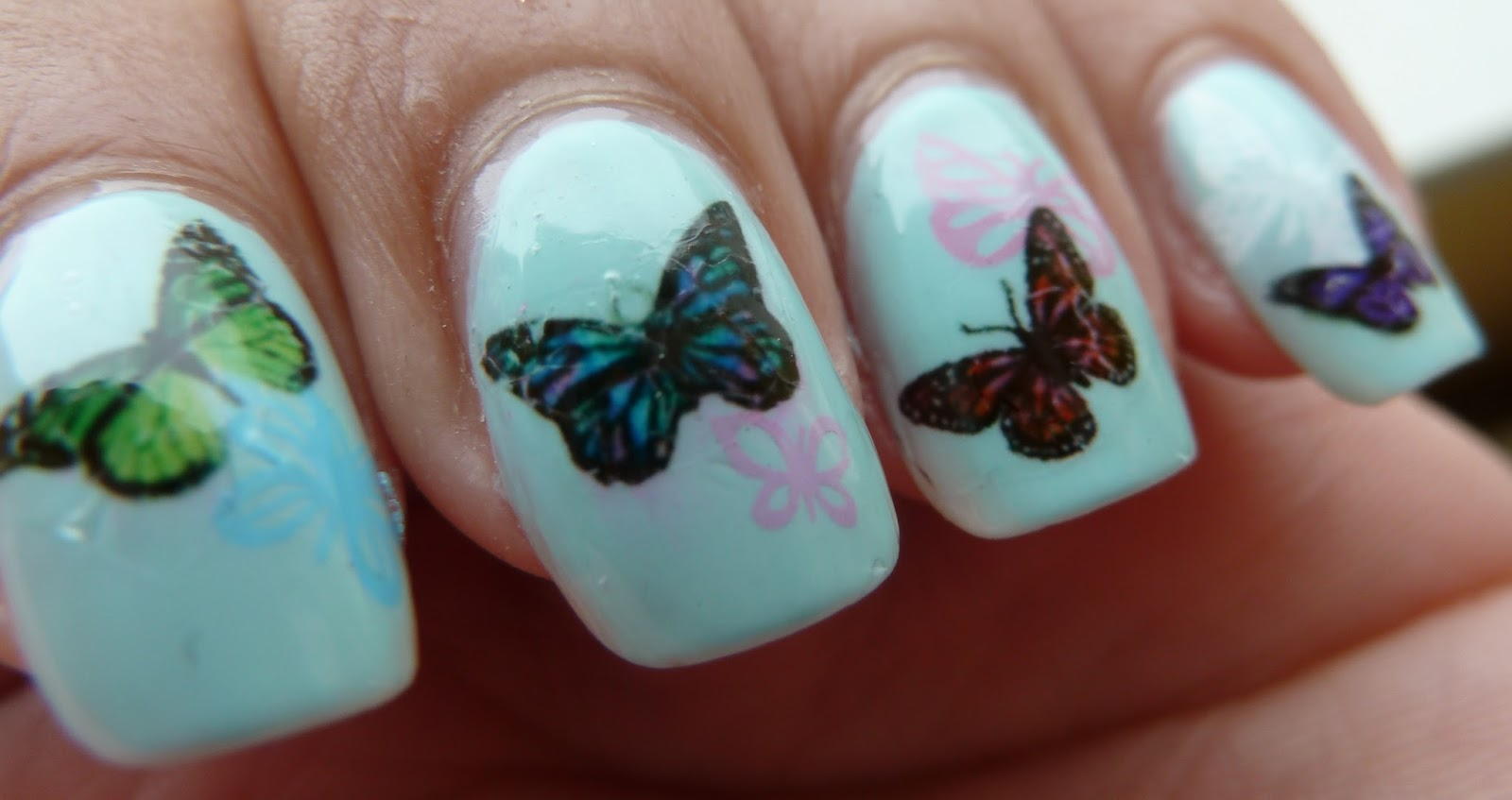 NailsByStephanie: How To Use Waterslide Decals
