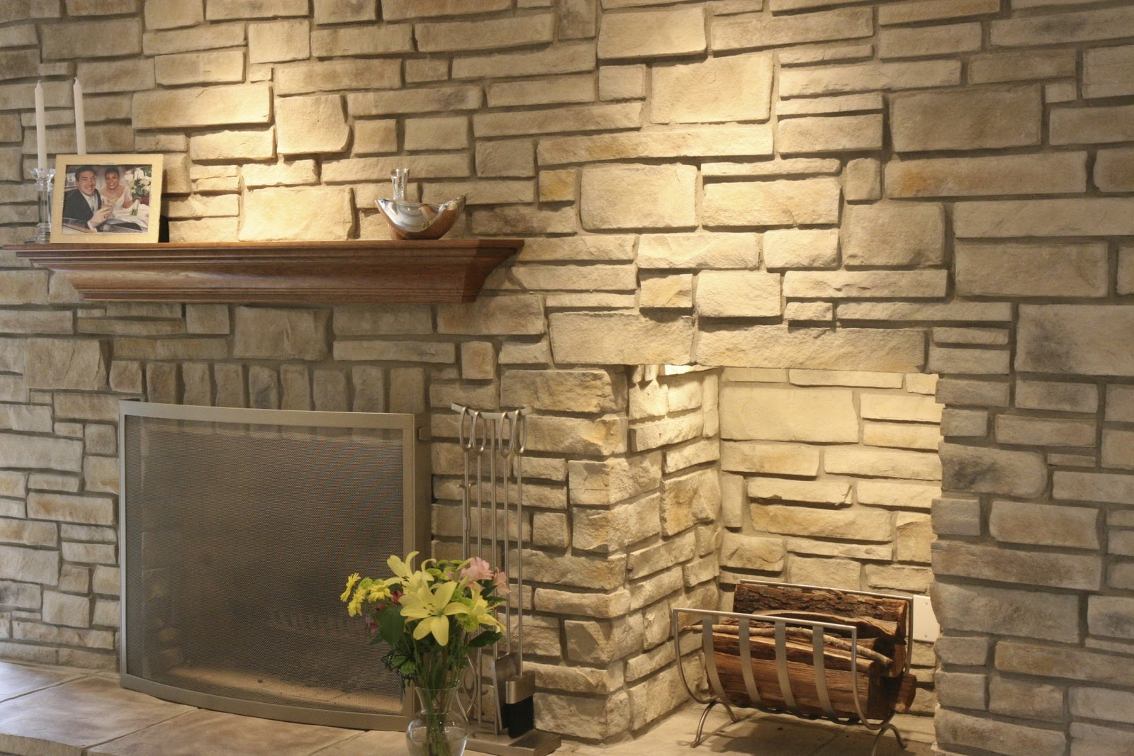 North Star Stone Stone Fireplaces Stone Exteriors Ledge Stone For Your New Stone Fireplace