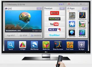 LG produk smart TV