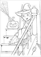 desene de Halloween de colorat
