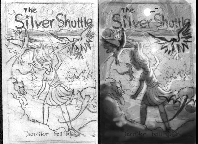 Book Cover Design Sketch : Mg children s book illustrations teen chapter cover