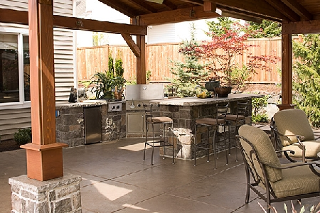 Outdoor Kitchen Design Ideas on Backyard Designs    Amazing Backyard Designs Photos