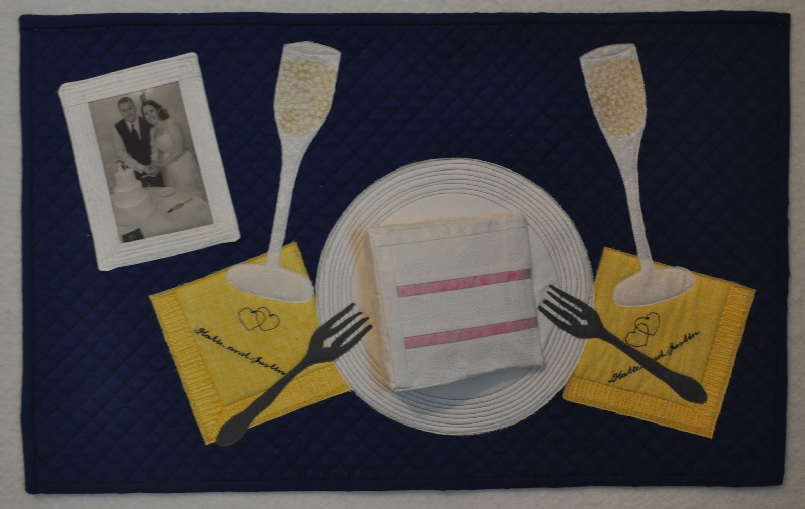 What kt made quot st anniversary dinner a quilt show reject