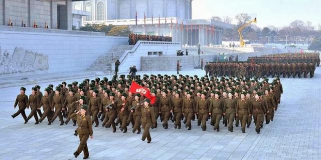 Militer Korea Utara Sumpah Setia untuk Kim Jong Un