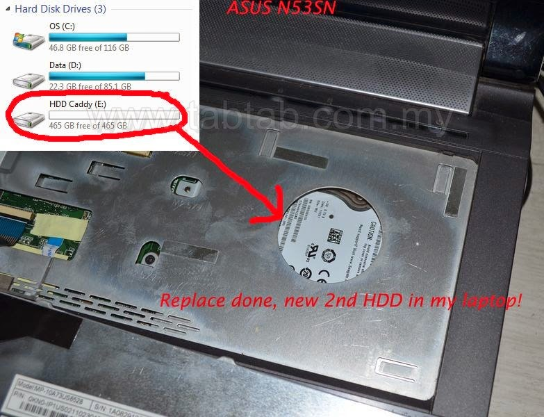 how to put boot manager of new hdd