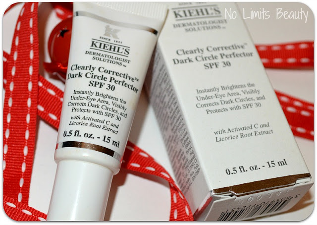 Kiehl's: Clearly Corrective Dark Circle Perfector SPF30 (review y swatches)