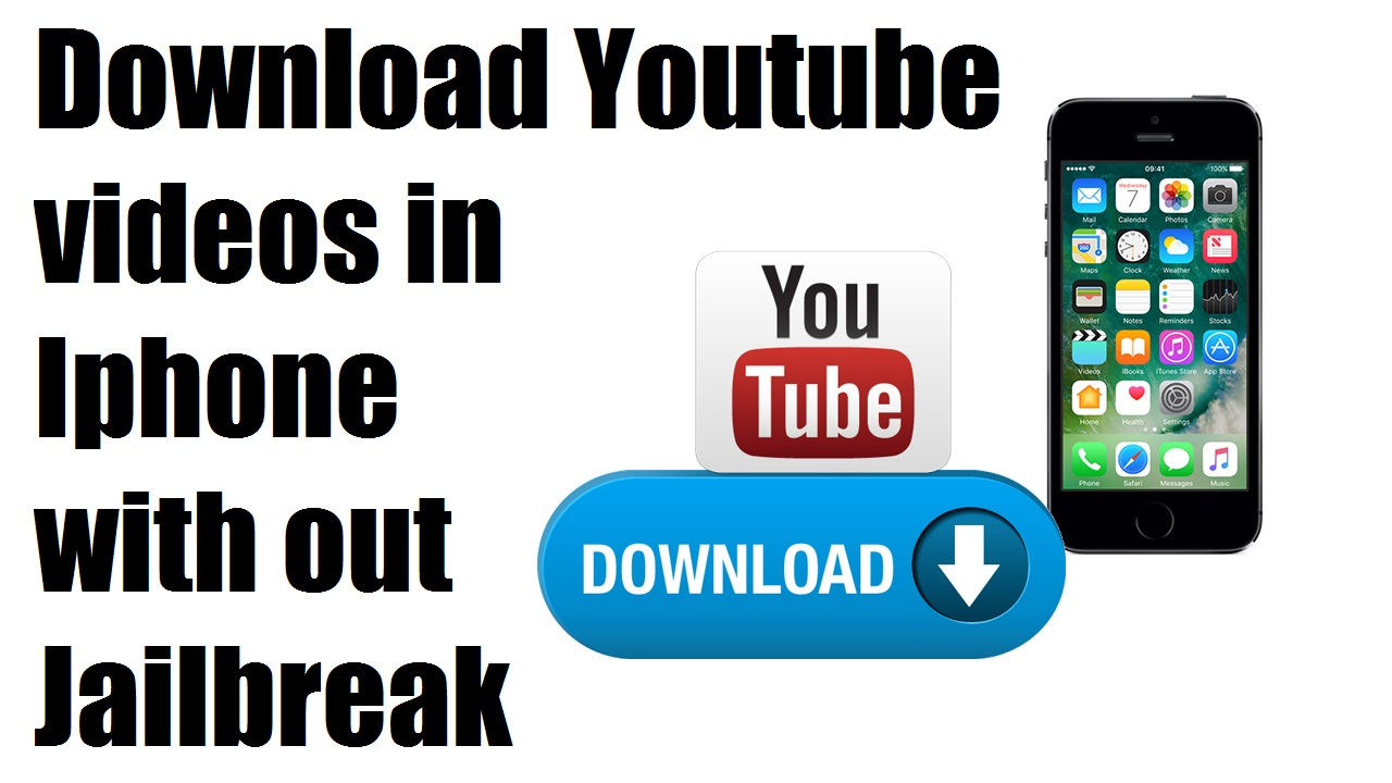 How to download youtube videos in iphone with out jailbreak today i cam with one cool tips for iphone that is how to download youtube videos in iphone with the below tips you may download videos with jailbreak and ccuart Images