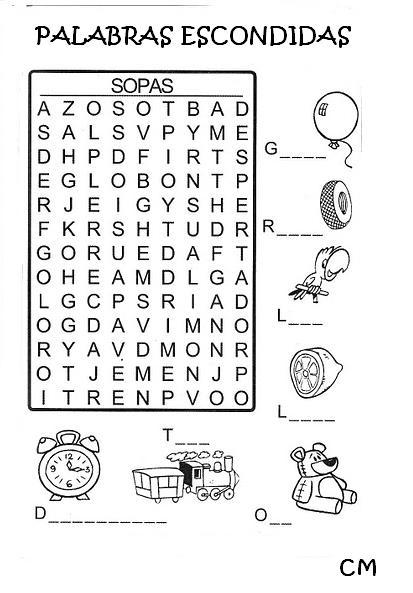Generador De Sopa De Letras Dibujos Para Colorear | Review Ebooks