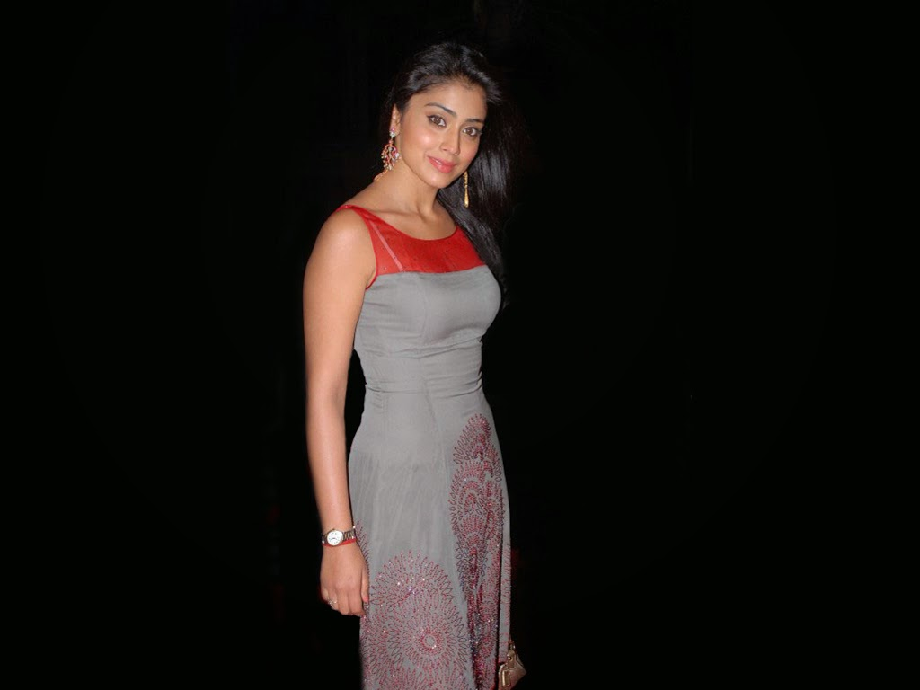 Shriya Saran hot unseen rare pics HD in long Gown