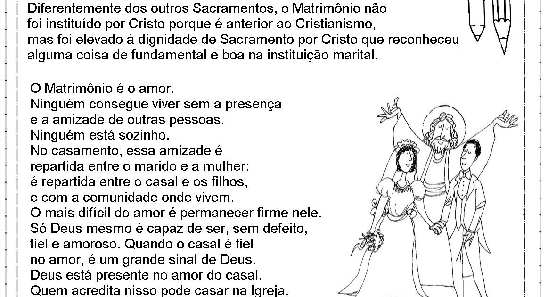 Sacramento Do Matrimonio Na Bíblia : Catequese na net sacramento matrimônio