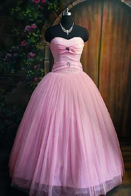 Vestido de 15 años de color Rosa con Strapless