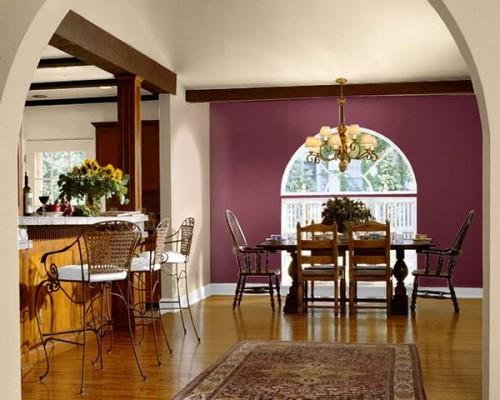 12 ambientes em tom borgonha em interiores decora o e - Tom interiores ...