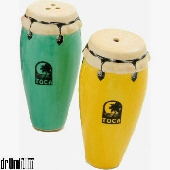 Drum Salt and Pepper Shakers