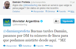 problemas movistar argentina