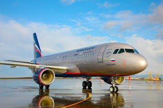 Aeroflot's brand new A320 has been named P. Yablochkov