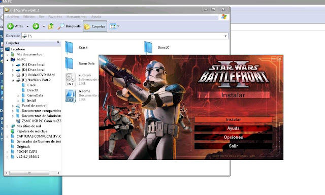 Capturas Star Wars 2 Battlefront PC 2012