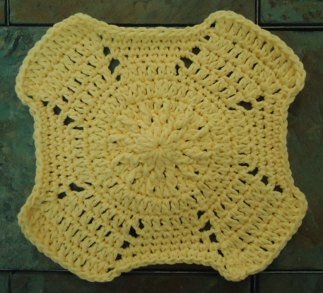 ROUND KNITTED DISHCLOTH PATTERN - Best Patterns of 2014