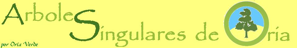 Árboles Singulares de Oria