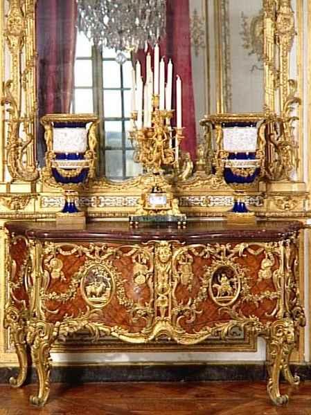 Commode-médailler 1739, Cabinet des médailles  Bibliothèque nationale, Paris
