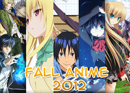 Summer Anime 2012 is not yet over but Fall Anime 2012 line up is