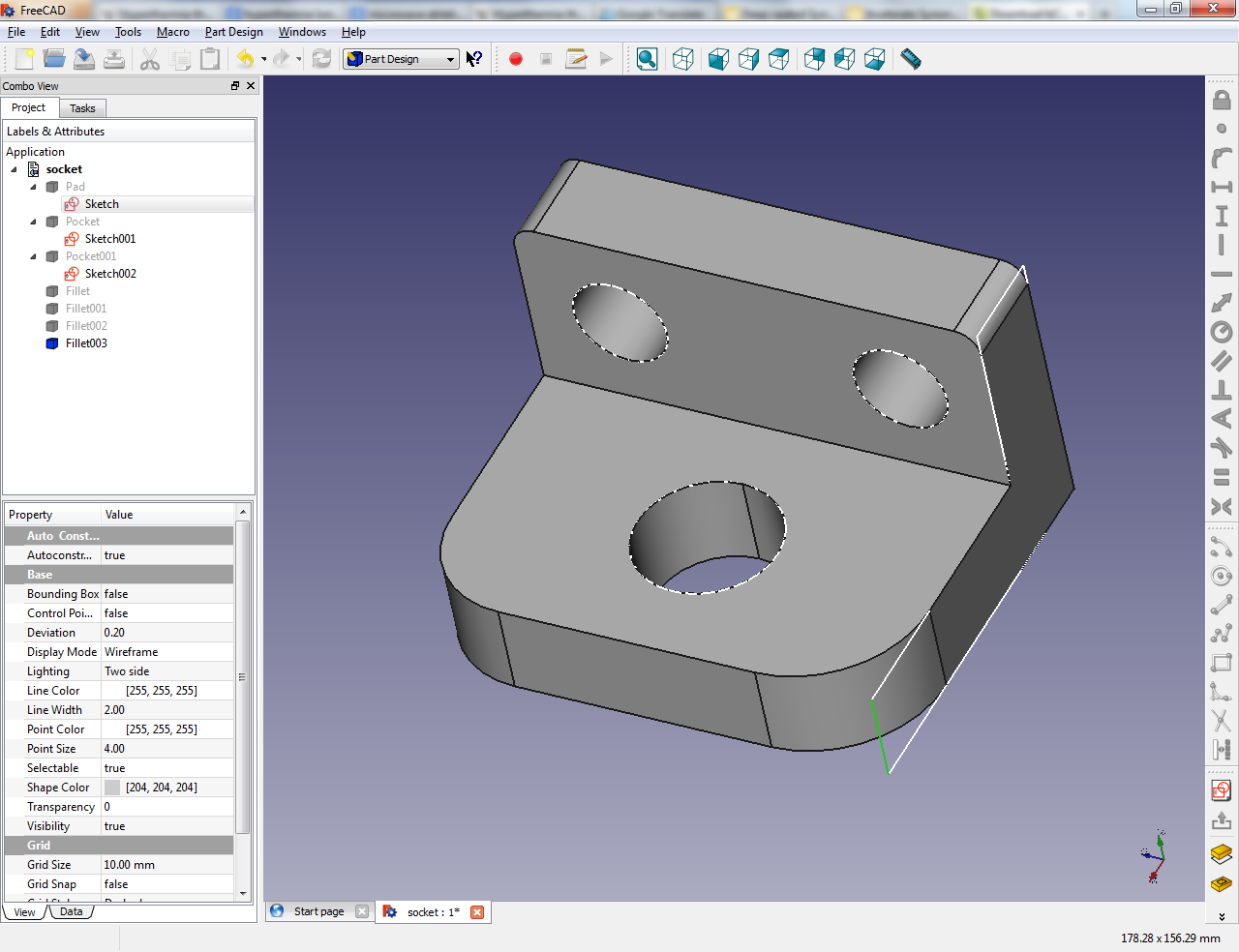 Scientific computing co 3d cad software freecad for Software cad 3d