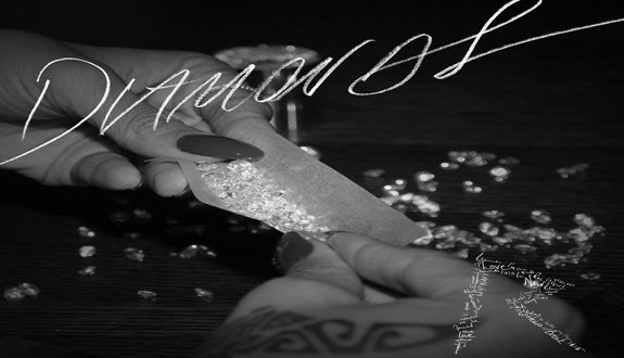 Rihanna Diamons cover album