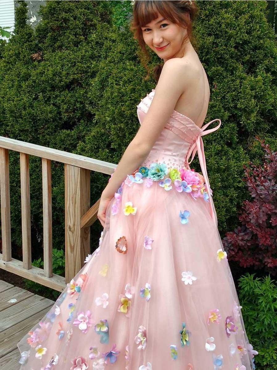 Korean Princess Prom Dress