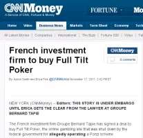 CNN Money reporting the GBT-FTP-DOJ deal (before the story was taken down)