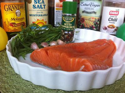 Photo of Sweet Chili Tarragon Salmon