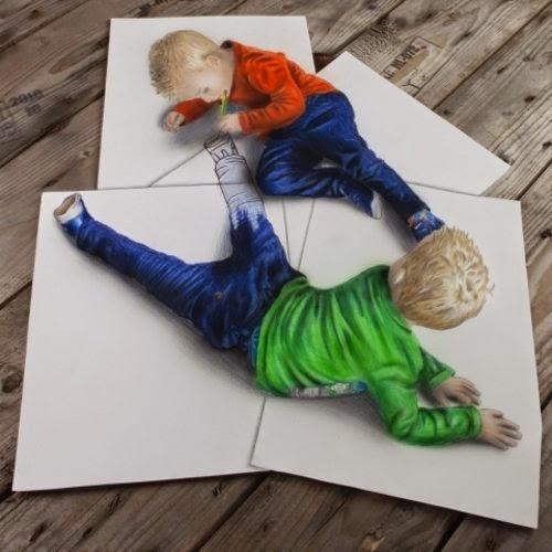 21-The-Twins-Optical-Illusionism-Ramon-Bruin-www-designstack-co