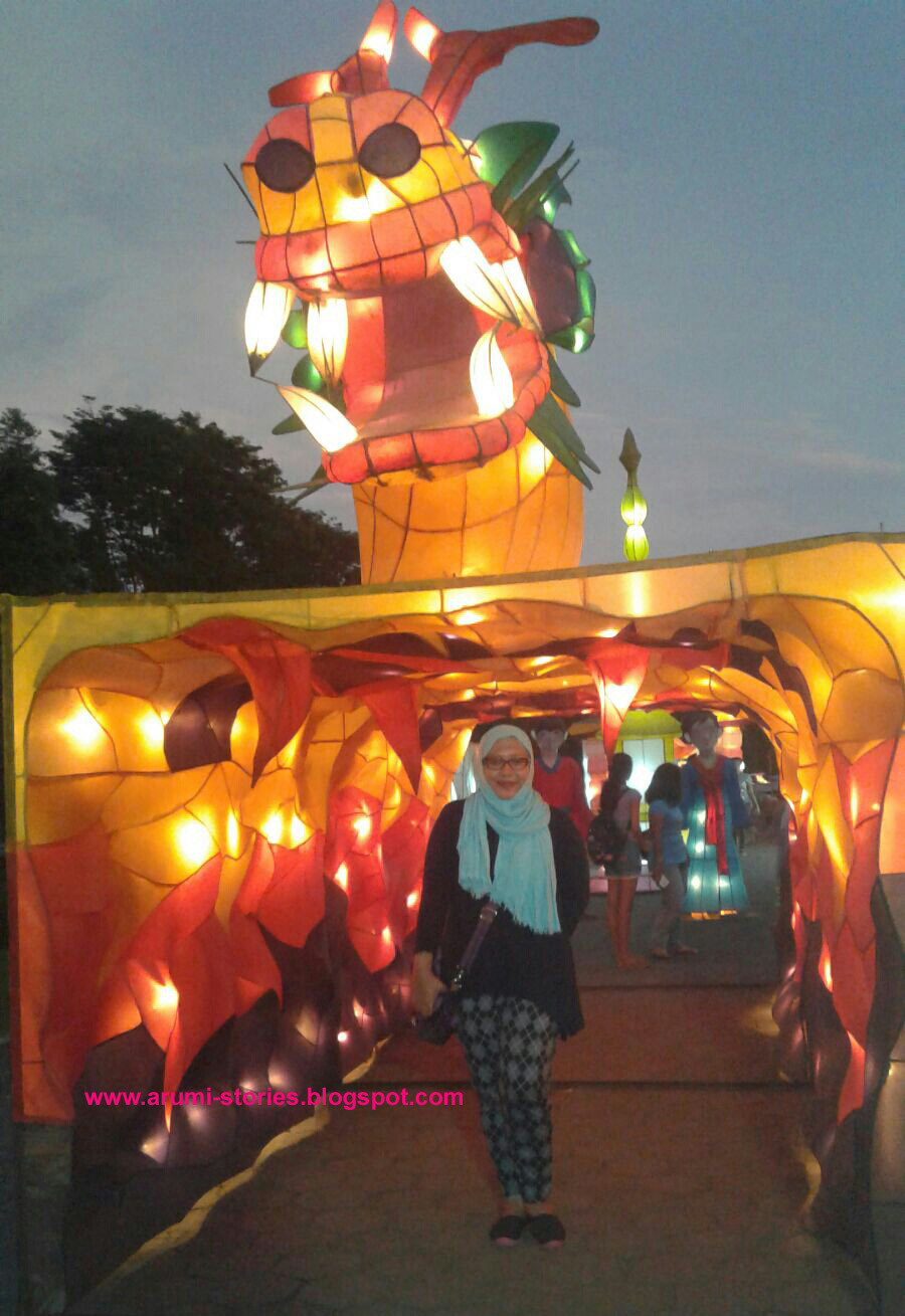 Arumi S Stories Yearendholiday Part 2 Festival Lampion Taman