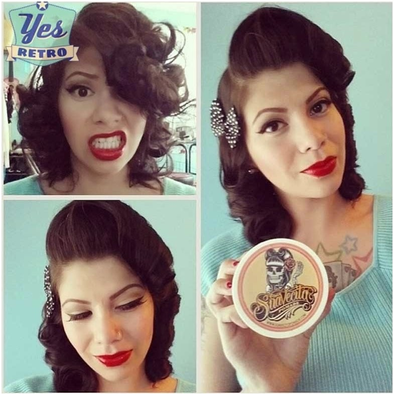 Hair, Pinup, Pomade, Suavecita, Vintage