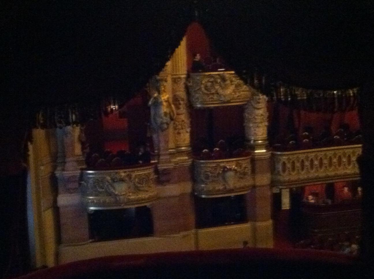 Palais Garnier, sombre maison