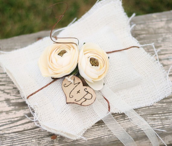 They do several personalized engraved wood rustic wedding decorations