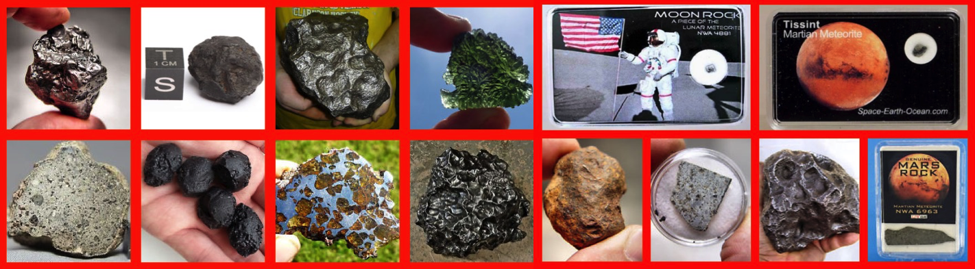 Most Amazing Meteorites Ever Found!