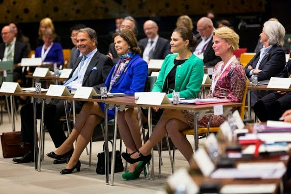 Princess Victoria Attended A Forum Of Dementia In Stockholm