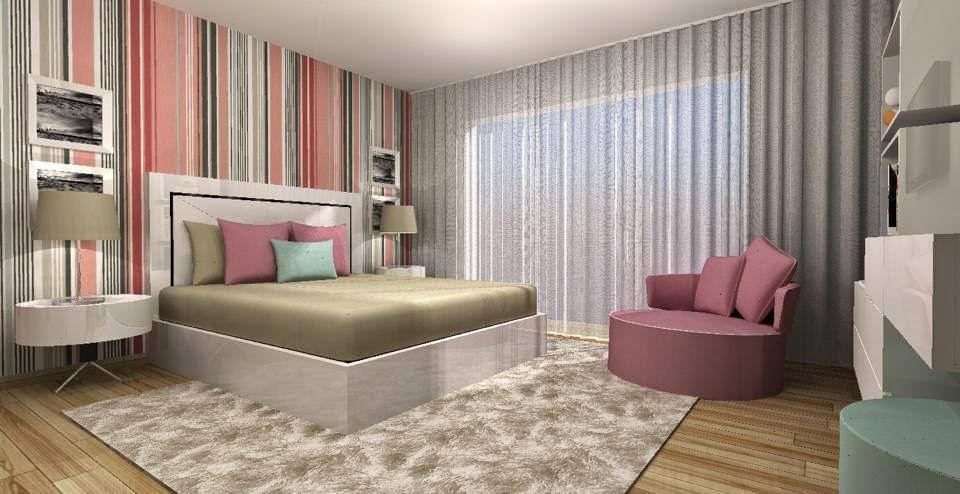 decoracao interiores interdesign:Bricolage e Decoração: Ideias para um Quarto de Casal Original e com