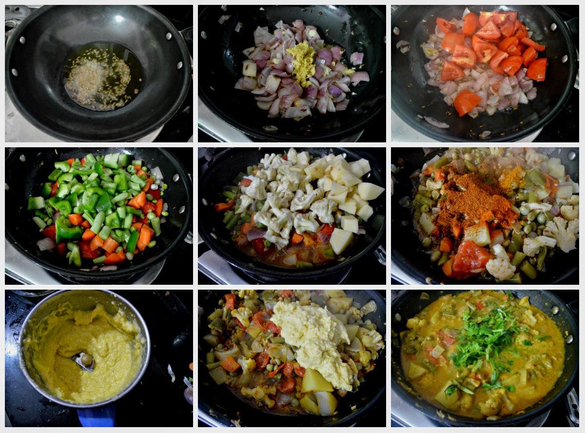 mixed veg sabzi