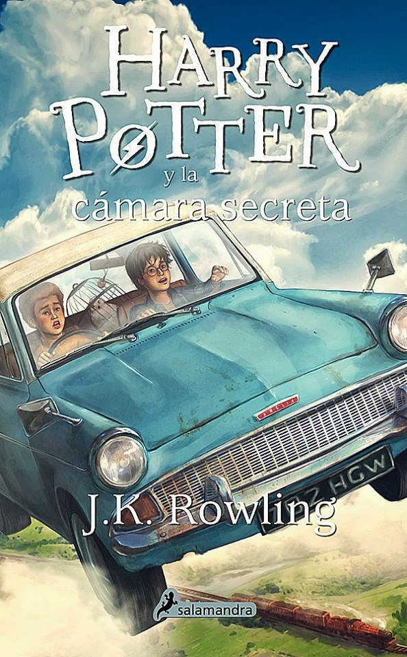 Harry Potter e a Câmara dos Segredos, edição espanhola com ilustração de Tiago Silva