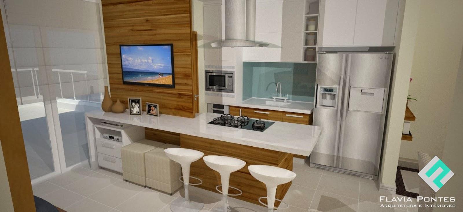 Flavia Pontes Arquitetura 2014 -> Sala De Estar Pequena Dois Ambientes