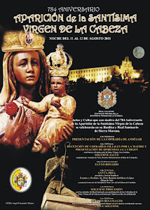 Actos del 784 Aniversario de la aparición de Ntra Sra de la Cabeza. Noche del 11 al 12 de Agosto.