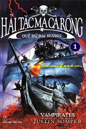 Ebook Hải Tặc Ma Cà Rồng - Tập 1: Quỷ Dữ Đại Dương full prc pdf epub [Kỳ Ảo]