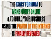 THE EXACT FORMULA TO MAKE MONEY ONLINE