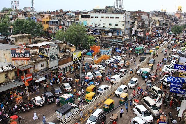 delhi chandni chowk road
