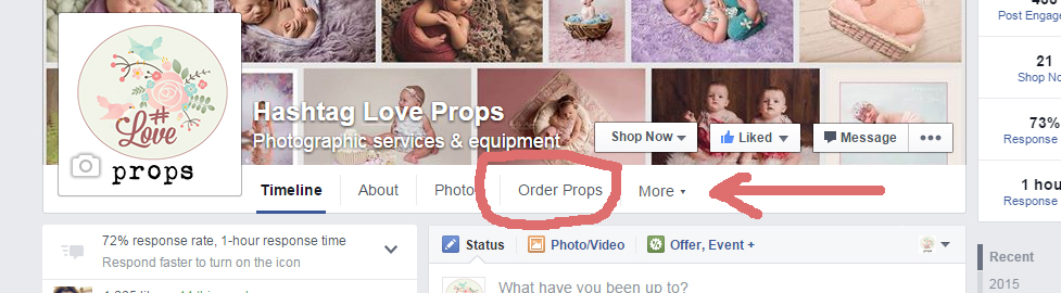 how to add text under your facebook photos