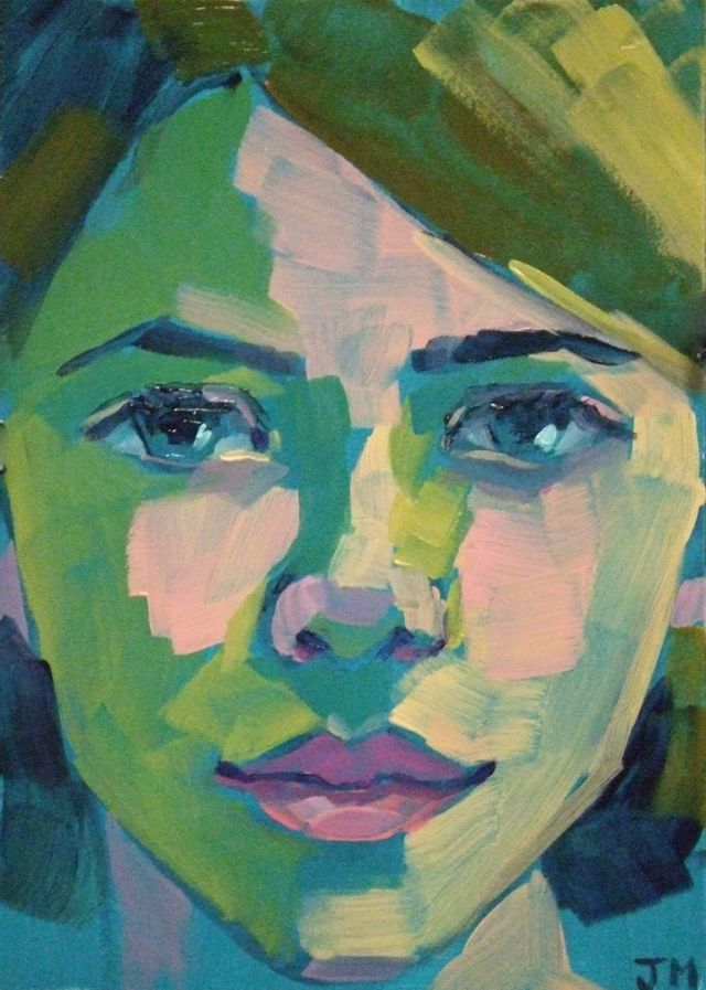 jessica miller paintings half hour portraits