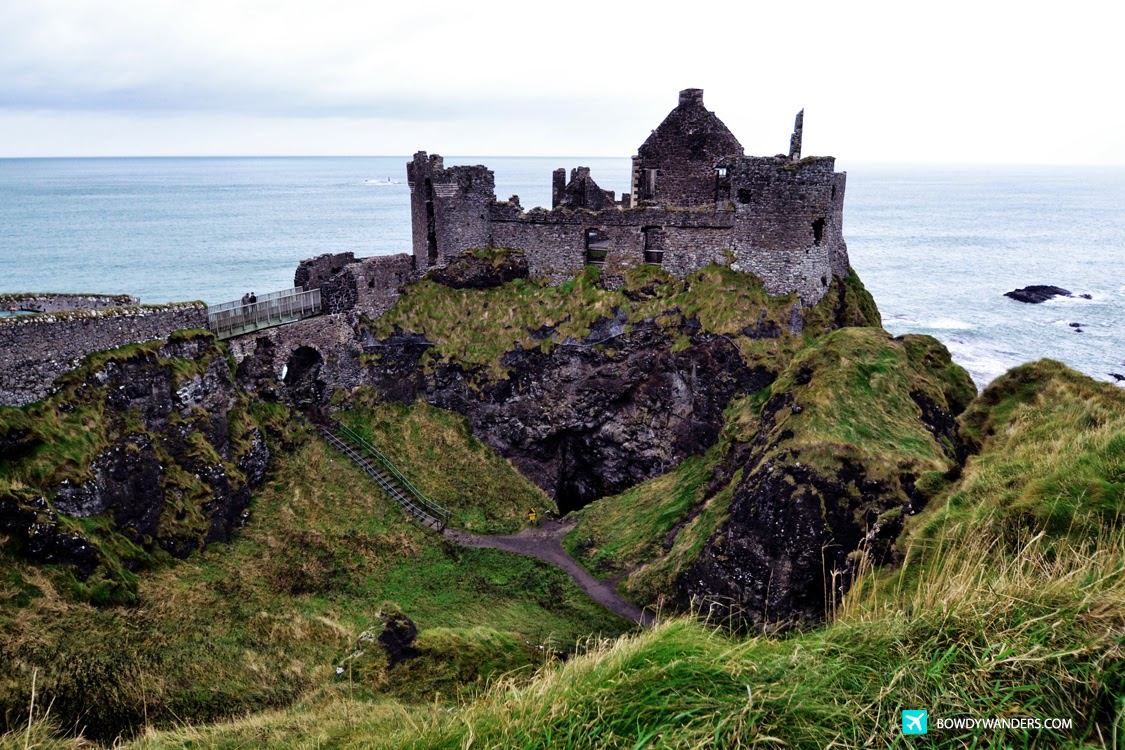 Dunluce Castle, Northern Ireland: