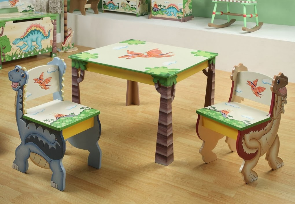 Teamson Children's Table And Chairs